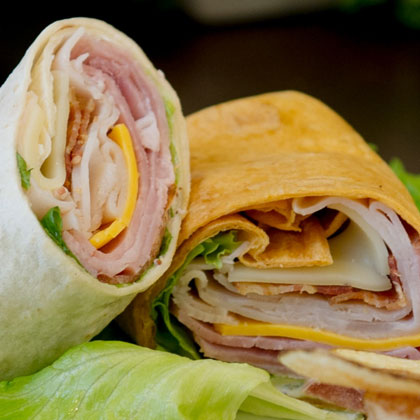 Tortilla Wrap Sandwich